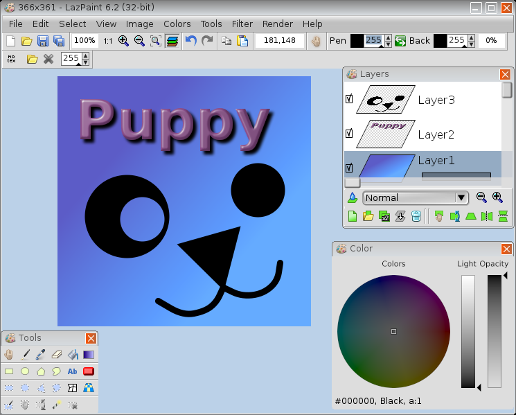 LazPaint / графический редактор