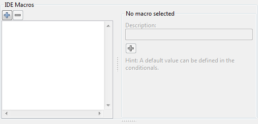 Compiler Options - IDE Macros