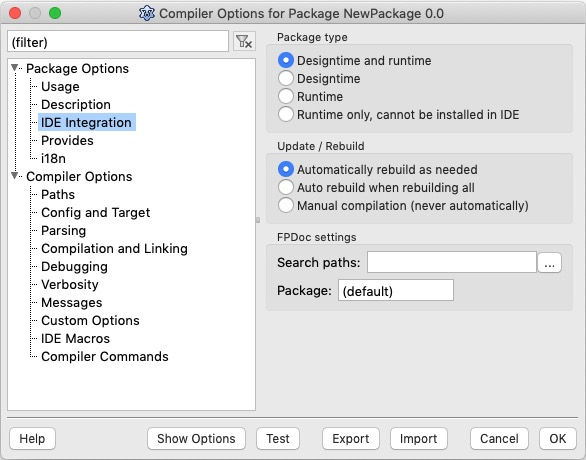 Package Options Dialog-IDE Integration.jpg