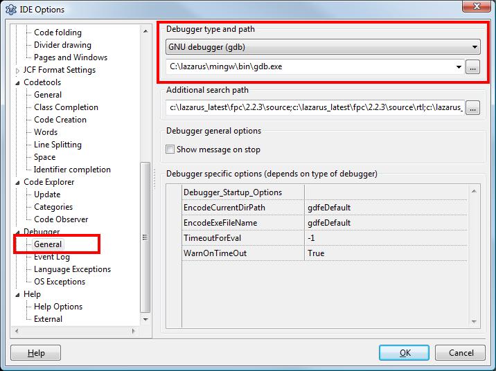 Debugger Setup - Free Pascal wiki