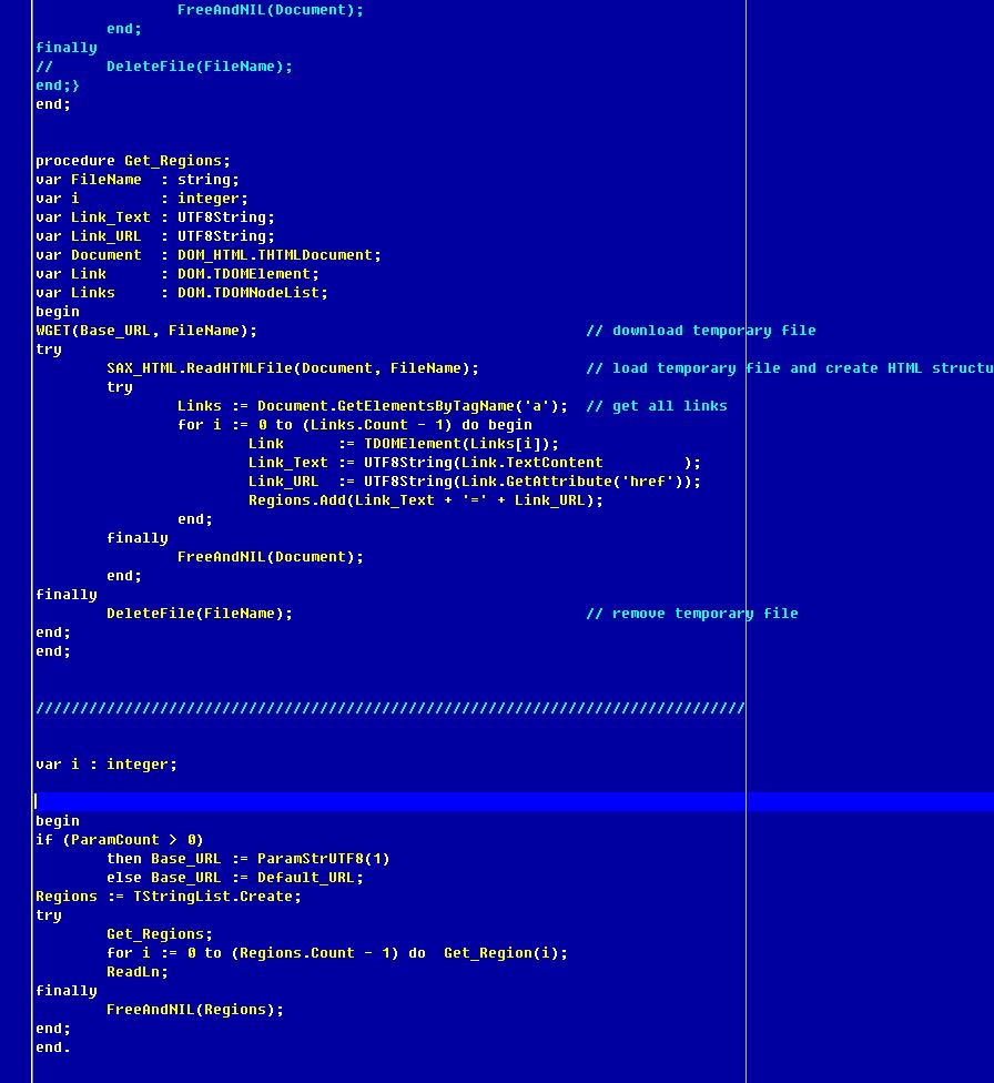 UserSuppliedSchemeSettings - Lazarus wiki