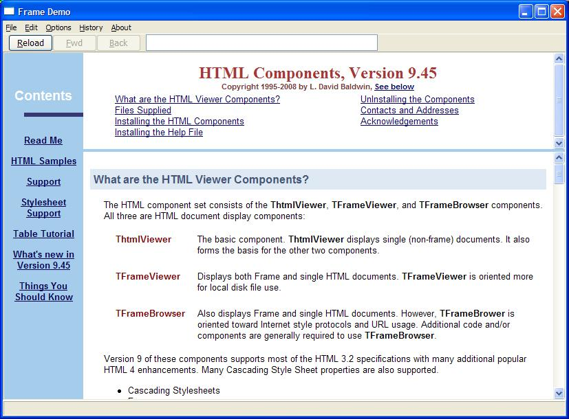 THtmlPort - Free Pascal wiki