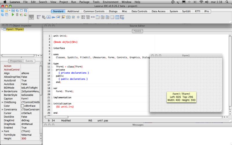 Lazarus for Mac OS X 2.0.12 full